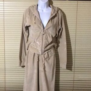 House of Freedom Tan Fleece Jogging Suit